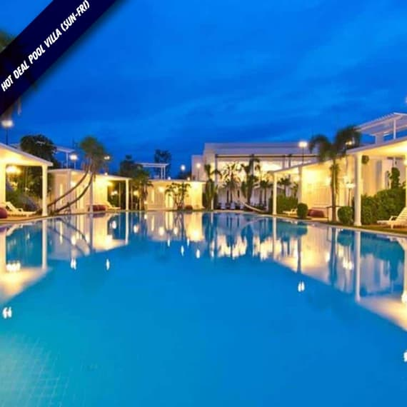 Hot Deal Pool Villa (Sun-Fri)
